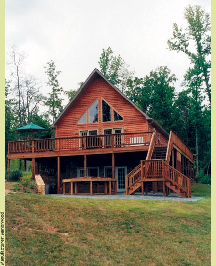 Chalet and Vacation Home Plans | Saratoga Modular Homes